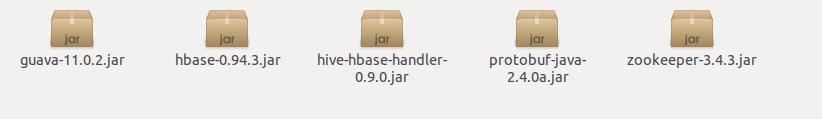 hbase-0.94.3 Hive 0.9.0