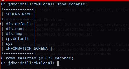 Drill-Sqlline-schemas