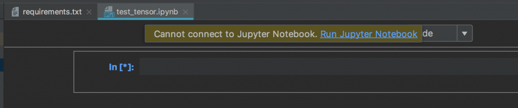 Setup PyCharm for Deep learning with TensorFlow, Keras and Jupyter